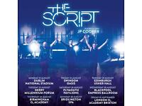 2x The Script Standing Edinburgh Usher Hall Tickets