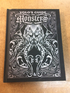 Sold Out Limited Edition of Volo's Guide to Monsters