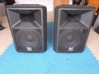 EV SX100+ pair of passive speakers
