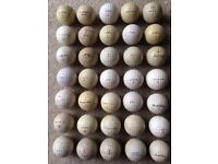 Large collection of OVER 200 vintage golf balls - FOR PRACTISE OR COLLECTORS