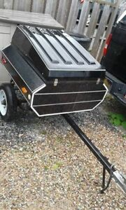Com-Pac-Camp Motorcycle Trailer