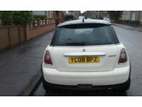 mini cooper 1598cc cream 08 plate newshape 1495
