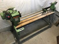 Excellent Wood Turning Lathe with stand
