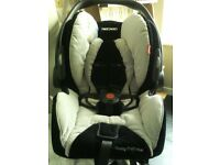 Baby Ricardo profile plus car seat with Isofix ex cond for baby 0-9months