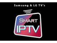 12 Months Iptv for Smart Tvs
