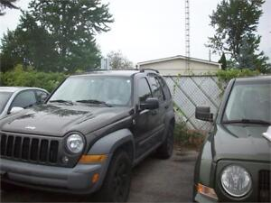 2005 Jeep Liberty Sport NICE CLEAN 4X4 RUNS AND DRIVES AS-IS