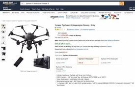 DRONE Typhoon H Hexacopter (Release 3)
