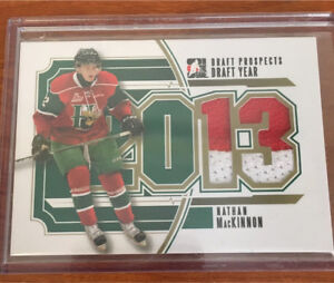 2013 ITG Draft Prospects Draft Year Jersey GOLD Nathan MacKinnon