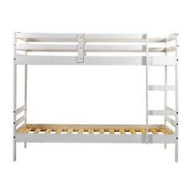 Josie Shorty Bunk Bed Frame - White