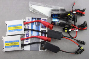 HID Slim Kit 6000K BRAND NEW - 9006 HB4 w/Ballasts + Mounts