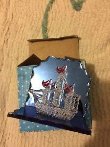 Crystal Glass Sailing boat