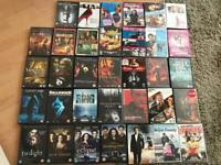 34 mixed DVDS