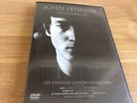 John Lennon and George Harrison two DVD
