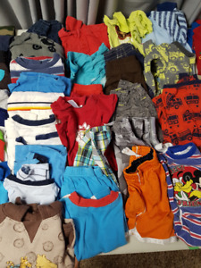 Boys 24 mth clothing  81  pieces- have girls bundle too
