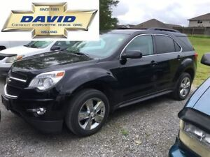 2013 Chevrolet Equinox 2LT FWD 5DR LEATHER REAR CAM LOCAL TRADE!