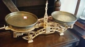 Unique And Vintage Fully Restored Kitchen Scale