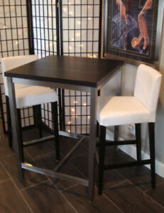 IKEA UTBY TABLE AND 2 CHAIRS