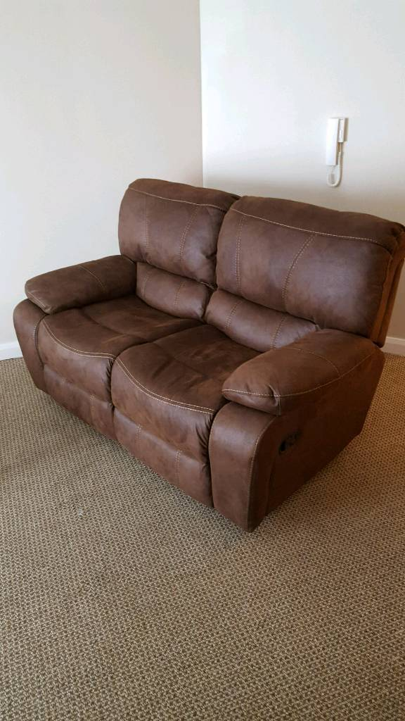 New Sofas (worth1100in Newtownabbey, County AntrimGumtree - Cooper suite treated reclining 2 seaters (Harvey Norman) x 2 £850 ono