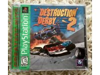 Game Destruction Derby 2 for US PlayStation console.