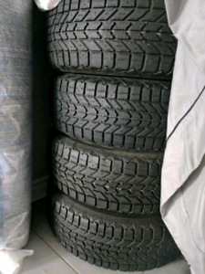 195/16 R15 Firestone Winterforce WINTER TIRES+RIMS!!