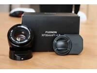 Fujifilm fujinon 35 mm f1.4 Fuji prime lens