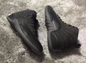 Black Air Jordans Retro 12