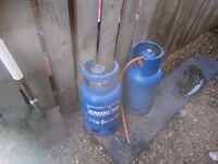 gas bottles and regulators for sale