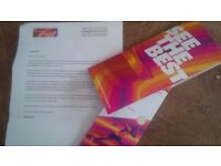 4 World Athletics Championships Tickets Olympic park Stratford Sunday a.m. 6th August