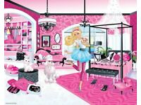 barbie Walltastic barbie Nursery Wallpaper new and boxed