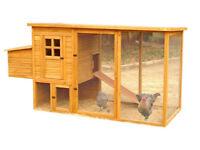 Wooden Chicken Hen House