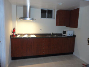 2 Bed Room Basement Apt  now 1 room left With Separate Entrance