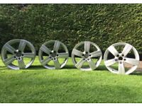 17 inch Audi Alloy Wheels