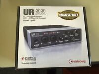 UR 22, USB 2.0 Audio Interface