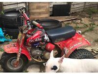 Honda atc 70 yx140
