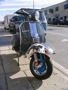 Piaggio Vespa P125X 1979 gris great shape scooter