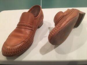 Florsheim Men's Breathable Slip-On Leather Shoes