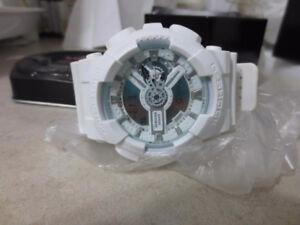 Brand New Casio G Shock White 50mm World Time Watch