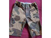Boys Nezt cargo shorts age 8