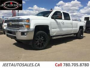 2015 Chevrolet Silverado 3500HD LT 4X4 6.6L Diesel 8' ft box