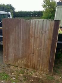 5 ft fence panels