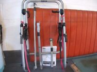 Halfords metal clamp bike carrier