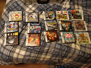 Large Collection of Nintendo Ds/3DS Games Updated 2017-08-19