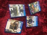 Four play station games