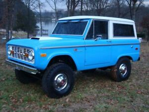 EARLY FORD BRONCO 1966 - 76