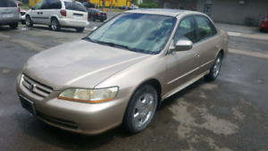 Certified/Safetied 2001 Honda Accord