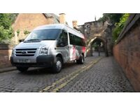 MINIBUS HIRE WITH DRIVER - 16 SEATERS