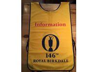 146th Royal Birkdale Open Golf Championship - Marshall's Bib