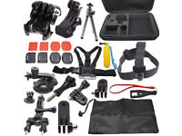 30 Pc In 1 GoPro Accessories Kit Set For Go Pro Hero 2 3 4 Head Chest Strap Pole