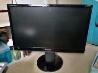 Samsung 24in flat-screen monitor