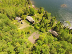 Double Lot Cottage Property on Lake of the Woods, Sioux Narrows